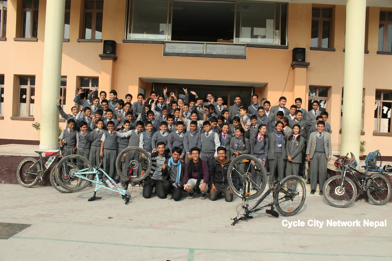 Read more about the article Bike to School @ Triyog