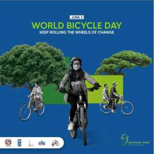 """Read more about the article World Bicycle Day 2021 """"I Cycle Because…"""""""
