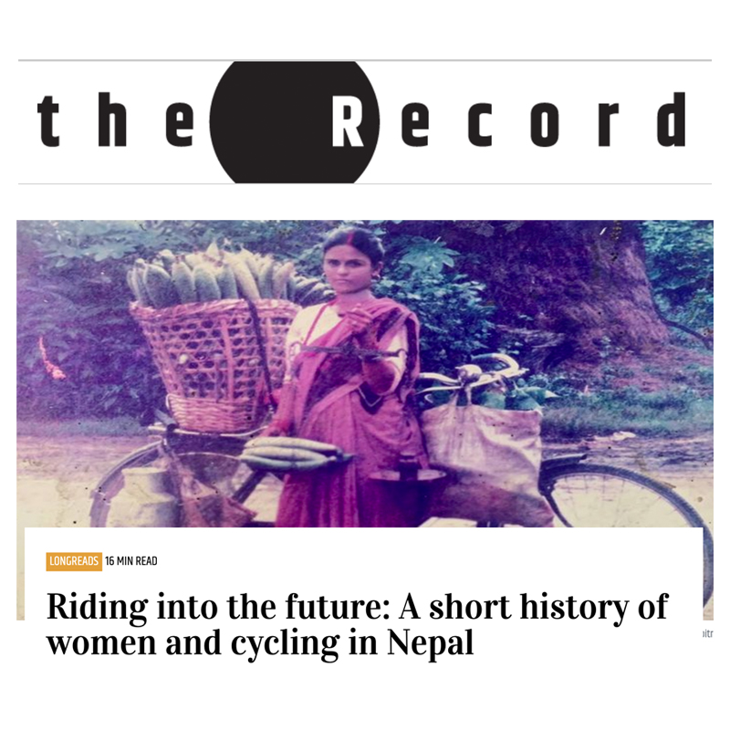 Read more about the article Riding into the future: A short history of women and cycling in Nepal