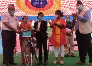Read more about the article Bicycle Distribution at Tulsipur, Dang
